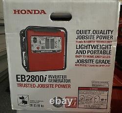 NEW Honda EB2800i 120V 2800W Portable Inverter Generator FAST SHIPPING