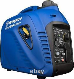 NEW WESTINGHOUSE iGen2200 PORTABLE INVERTER HOME RV CAMP GAS GENERATOR 1800/2200