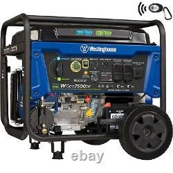 Open Box Westinghouse WGen7500DF Portable Dual Fuel Generator