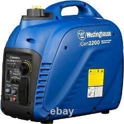 Open Box Westinghouse iGen2200 Portable Inverter Generator