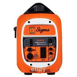 Pickup Sigma 2400 Watts Surge Power Super Silent Inverter Generator Parallel