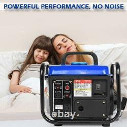 Portable Gas Generator 1200W Emergency Home Back Up Power Camping Tailgating US