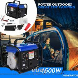 Portable Gas Generator 1500W 120V Emergency Home Backup Power Camping Tailgating