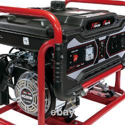 Portable Gas Generator 4000 Watt Emergency Lifan Engine Power Camp Tailgate