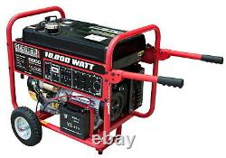 Portable Gas Powered Electrical Generator 10,000 Watt Power Electric Start