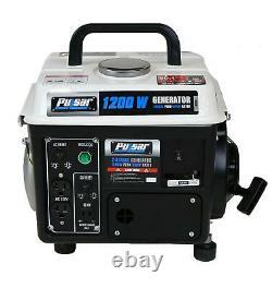 Portable Generator 2-Cycle Gas Powered 1200W Peak 900W Running Power Supply New