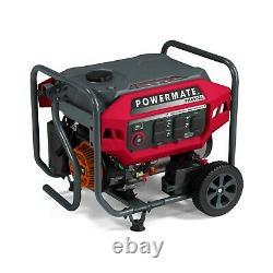 Powermate 8020 PM4500 4,500 Watt Portable Generator, CO Sense 49ST
