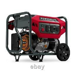 Powermate 8160 PM7500 7,500 Watt Portable Generator, 49 ST/CSA