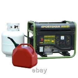 Propane Generator Portable Camp Standby 4000 Camping Quiet LPG Dual Gas RV