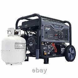 Pulsar 10000 Watt Portable Dual Fuel Propane/Gas Generator Electric Start G10KBN