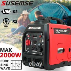 Pulsar 2000 Watt Parallel Ready Portable Gasoline Inverter Generator