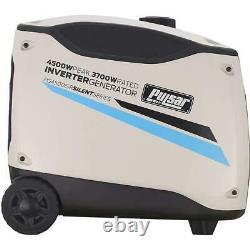 Pulsar 4500 Watt Portable Inverter Generator Electric Start with Remote Control