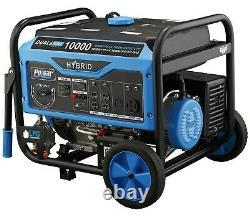 Pulsar Dual Fuel Gas Propane Generator Electric Start Portable 8000 10000 Watt