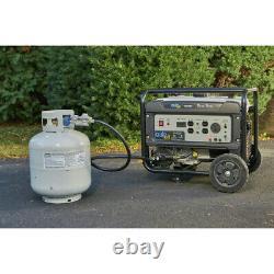 Quipall 4500DF Dual Fuel Portable Generator (CARB)