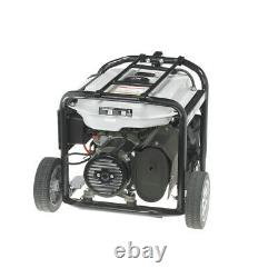 Quipall Dual Fuel Gas Portable Generator 5250DF with Electric Start, New