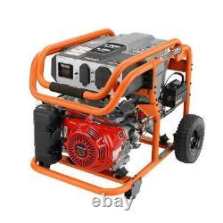 RIDGID RD907000P 8,750 Watt Genuine HONDA GX390 Elect Start Generator Brand New