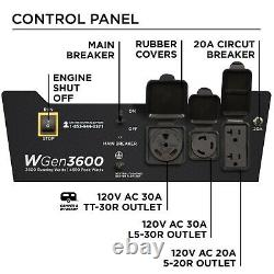 Refurbished Westinghouse WGen3600 Portable Generator