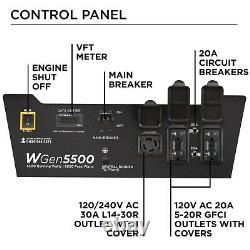 Refurbished Westinghouse WGen5500 Portable Generator