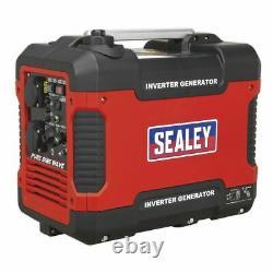 Sealey G2000I Generator Inverter 2000W 230V 4-Stroke Engine