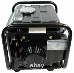 Shop4Omni Portable Two Stroke 950 Watt Air-Cooled Gasoline Generator