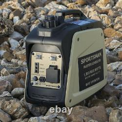 Sportsman 1,000-W Quiet Portable Gas Powered Inverter Generator Home RV Camping