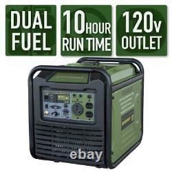 Sportsman 3,500-W Super Quiet Portable RV Ready Dual Fuel Gas Inverter Generator