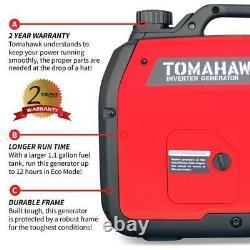 Tomahawk TG3000i Inverter 3000W- Ultra Quiet Home/Recreational-Powered by Honda