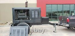 Tow behind gas generator 50kw