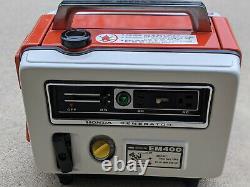 Vintage EM400 Honda Generator AC/DC Portable in Pristine Condition