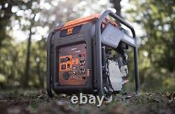 WEN 4,000-W Super Quiet Portable RV Ready Gas Powered Inverter Generator Home RV