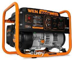 WEN 56155 4-Stroke 98cc 1550-Watt Portable Power Generator, CARB Compliant