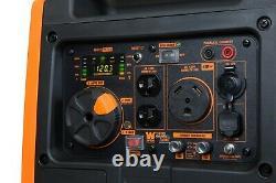 WEN 56380i Super Quiet 3800-Watt Portable Inverter Generator with Fuel Shut-Off