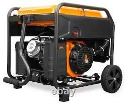 WEN GN625i 6250W RV/Transfer-Switch-Ready 120/240V Open Frame Inverter Generator