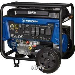 Westinghouse 12,500-W Portable Gas Powered Generator with Remote Electric Start