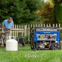 Westinghouse 12,500-W Portable Hybrid Dual Fuel Gas Generator with Remote Start