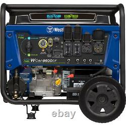 Westinghouse 12,500-W Portable RV Ready Dual Fuel Gas Generator with Remote Start