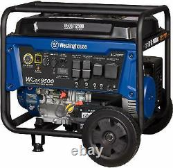 Westinghouse 12,500-W Portable RV Ready Gas Powered Generator with Remote Start