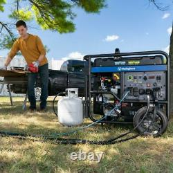 Westinghouse 15,000-W Portable Hybrid Dual Fuel Gas Generator with Remote Start