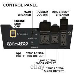 Westinghouse Open Box WGen3600v Portable Generator